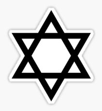 Jewish Star Sticker