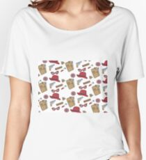 Agent Carter all over print- regular Women's Relaxed Fit T-Shirt