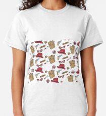 Agent Carter all over print- regular Classic T-Shirt