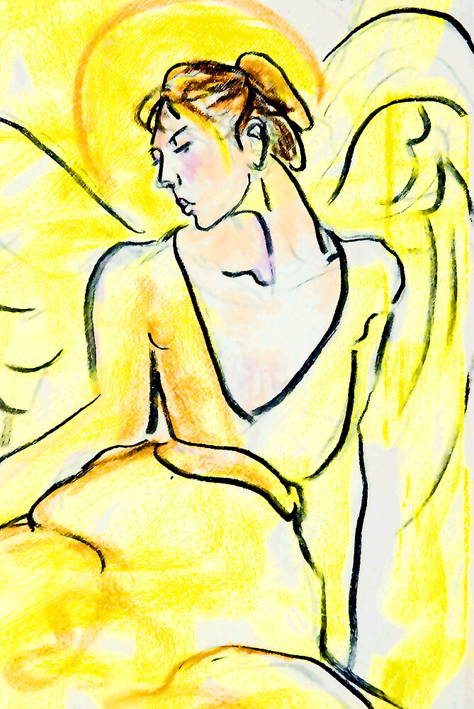 Yellow Angel by Linda J Armstrong
