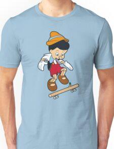 Pinocchio A Real Skater Boy  Unisex T-Shirt