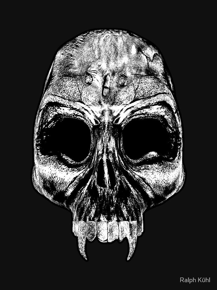 Ladies Evil Skull by ShadowMystique