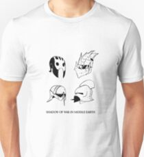 Orc's and Uruk - Hai's helmets Unisex T-Shirt