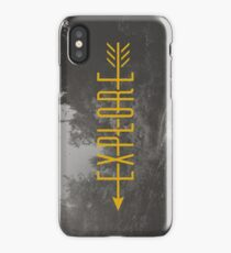 Explore (Arrow) iPhone Case/Skin