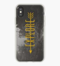 Explore (Arrow) iPhone Case