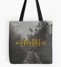 Explore (Arrow) Tote Bag