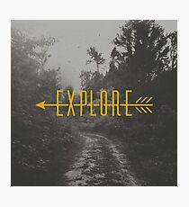 Explore (Arrow) Photographic Print