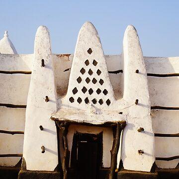 Ghana - Larabanga - Mosque V by novopics