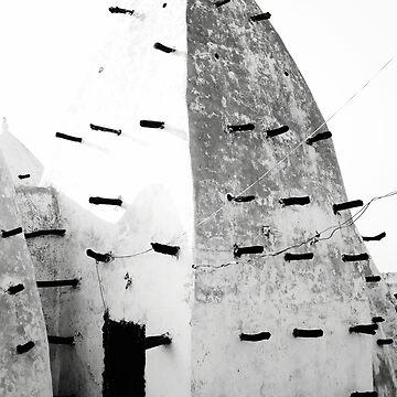 Ghana - Larabanga - Mosque I by novopics