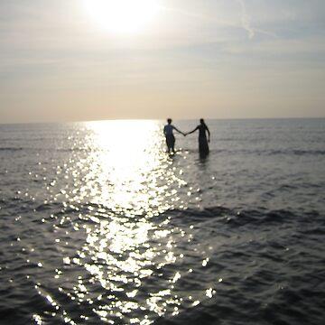 Walking into the Ocean by Alchemistress