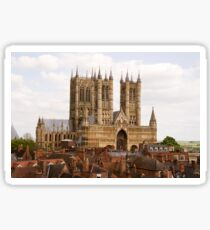 Lincoln Cathedral, Lincoln, UK Sticker