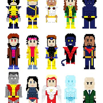 8-Bit Superheroes: The New Mutants by AlCreed