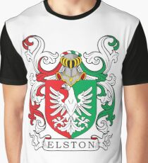 Elston Coat of Arms Graphic T-Shirt