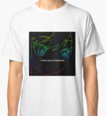b48ac73b3707dd I love you Timestamp Classic T-Shirt
