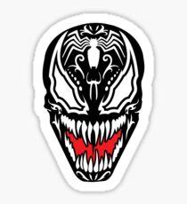 Venom Sugar Skull Sticker