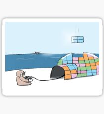 Igloo Tetris Sticker