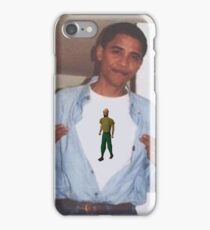 Obama Runescape iPhone Case/Skin