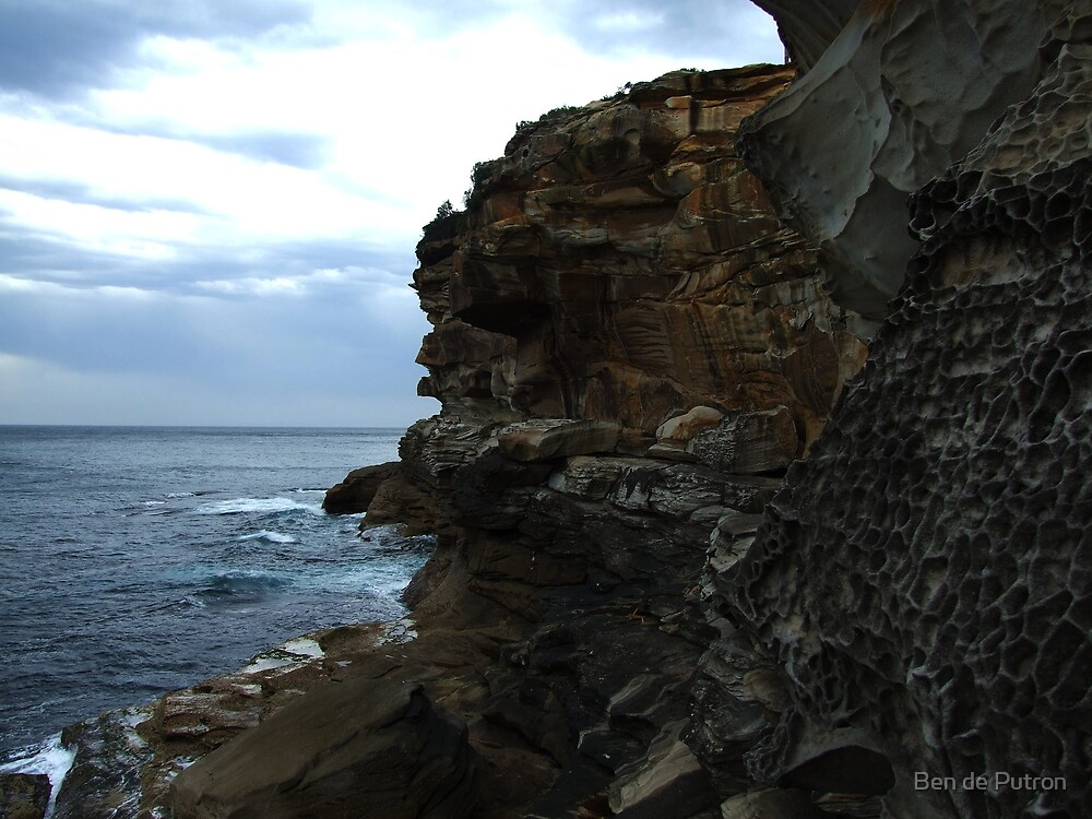 Cliffs at Bronte by Ben de Putron