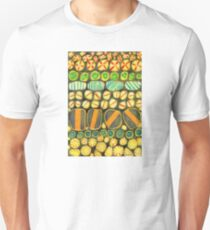 Vintage Decorated Round Shapes Pattern   T-Shirt