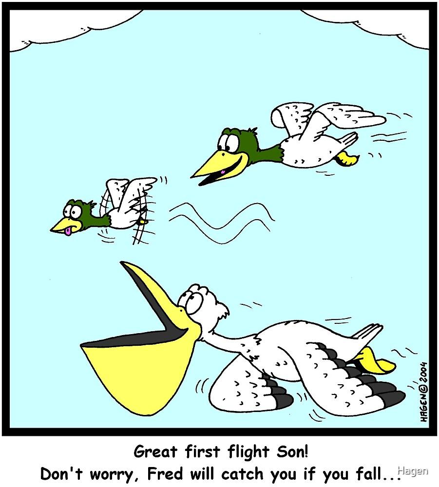 First Flight by Hagen