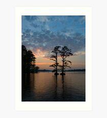 Chickahominy Couple Art Print