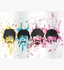 Watercolor Sgt. Pepper's Design Poster