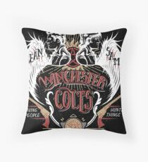 Winchester Colts Throw Pillow