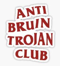 Anti Bruin Trojan Club Sticker