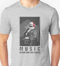 Music - opium for the people Unisex T-Shirt