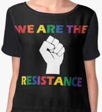 We Are The Resistance Women's Chiffon Top