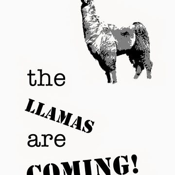 The Llamas - new by ArtbyCowboy