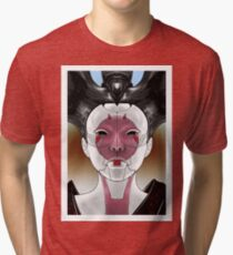 Ghost In The Shell Robot Geisha V1 Tri-blend T-Shirt