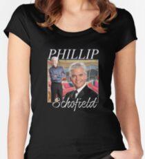 Phillip Schofield Homage Tee Women's Fitted Scoop T-Shirt
