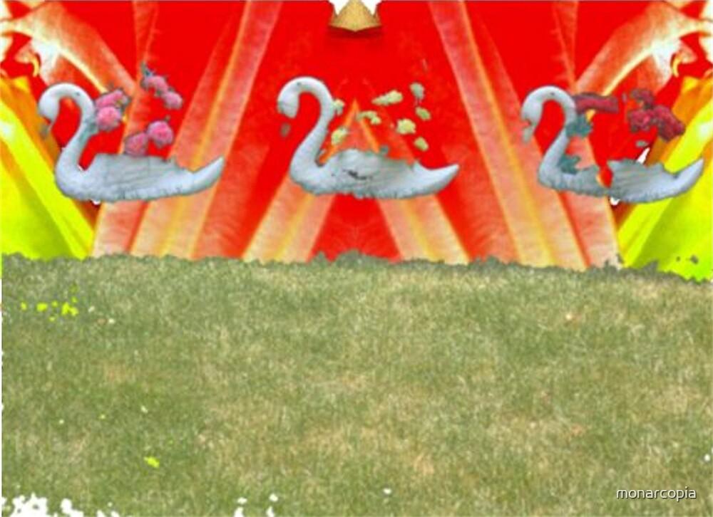 Swan Set by monarcopia