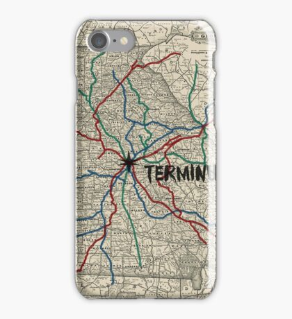 Terminus Map iPhone Case/Skin