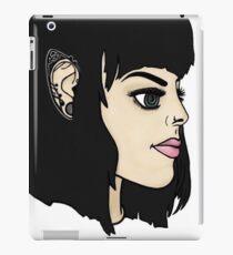 Elf portrait iPad Case/Skin