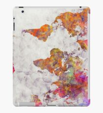world map 54 color iPad Case/Skin