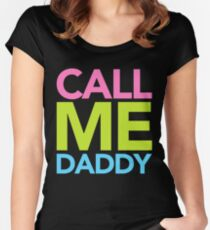 Call Me Daddy Women's Fitted Scoop T-Shirt