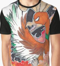 ho oh watercolour Graphic T-Shirt