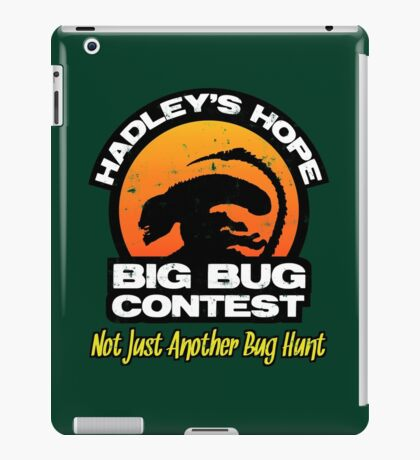 Big Bug Contest iPad Case/Skin