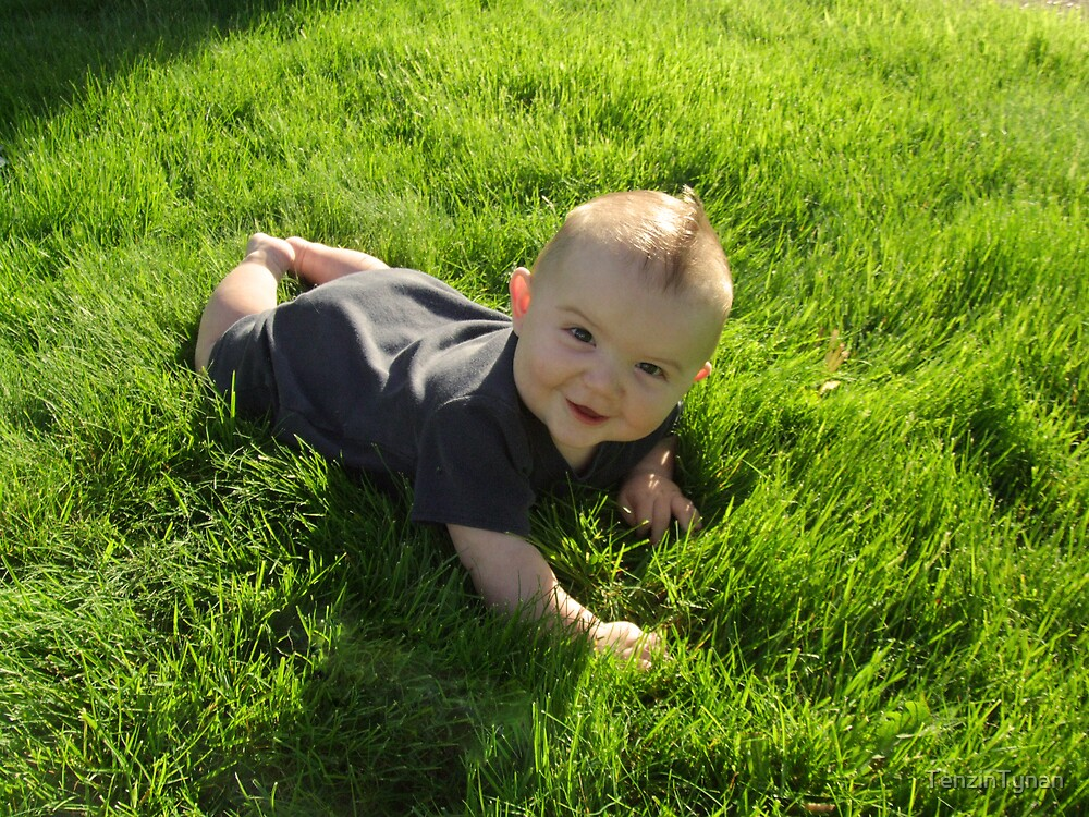 First Time in the Grass by TenzinTynan