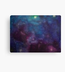 Galaxy II (horizontal) Canvas Print
