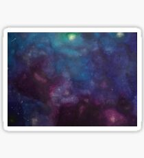 Galaxy II (horizontal) Sticker