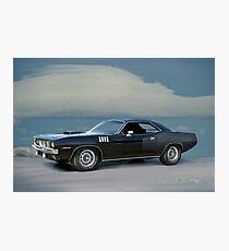 1971 Plymouth Barracuda 'HemiCuda' Photographic Print