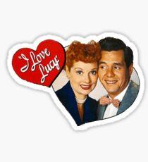 I Love Lucy Sticker  Sticker