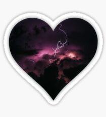 Heart of my Storm Sticker