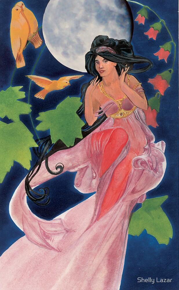 Fairy moon by Shelly Lazar