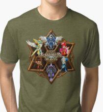 Monster Runes Tri-blend T-Shirt