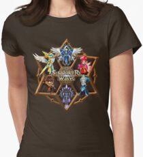 Monster Runes Women's Fitted T-Shirt