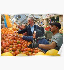 "Selection! - ""Machaneh Yehuda"" market,  Jerusalem, Israel Poster"